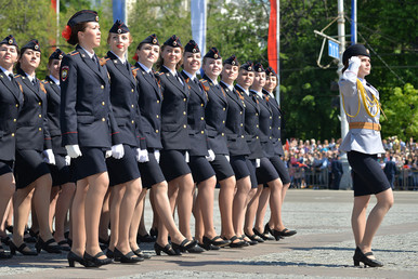 Mujeres de la Victoria: las militares rusas en los desfiles del 9 de mayo