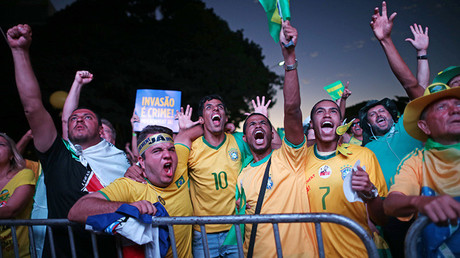 Protestas en Brasilia contra el Gobierno de Dilma Rousseff