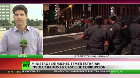 12 ministros de Michel Temer podrían estar involucrados en casos de corrupción