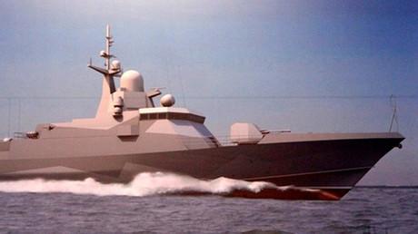 Proyecto de sigilosa corbeta portamisiles clase Karakurt