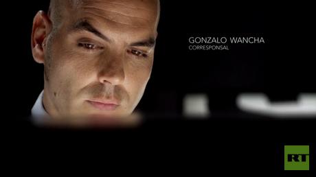 Gonzalo Wancha, corresponsal de RT
