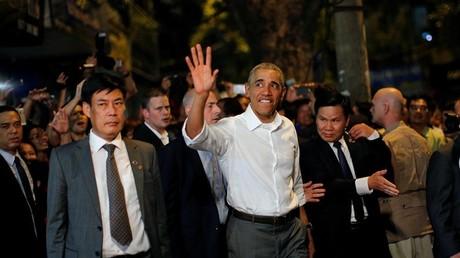 El presidente de EE.UU. Barack Obama en Hanói / Vietnam / 23 de mayo de 2016