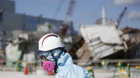 El reactor número 1 en la planta de energía nuclear Fukushima Daiichi  en la ciudad de Okuma, prefectura de Fukushima, Japón, 2016