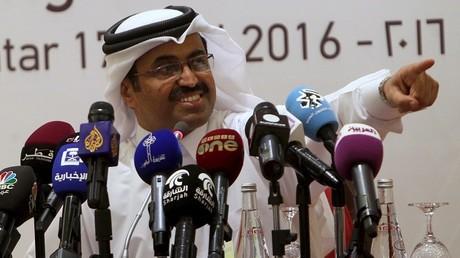 El presidente actual de la OPEP Mohammed Saleh al Sada