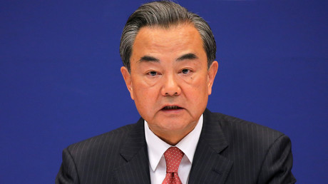 El ministro de Asuntos Exteriores de China, Wang Yi