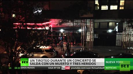 Un tiroteo durante el concierto de rap se salda con un muerto y tres heridos