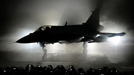 La nueva versión E del caza sueco polivalente JAS 39 Gripen