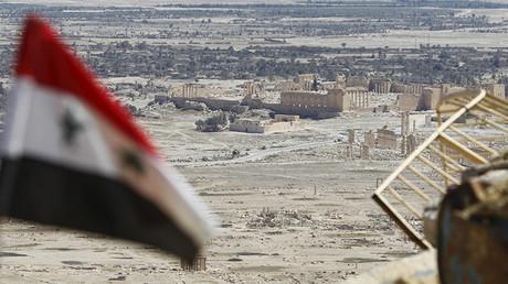 Vista de la ciudad siria de Palmira