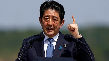 El primer ministro de Japón Shinzo Abe