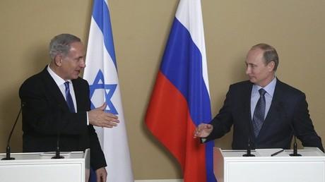 Vladímir Putin y Benjamín Netanyahu