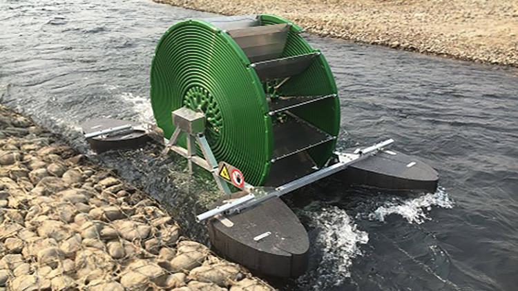 Cuando el río suena, energía lleva: un nepalí crea una bomba de agua que no necesita combustible