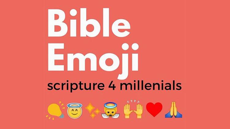 """La Biblia, traducida al idioma de los emoticonos: """"Una forma divertida de compartir el Evangelio"""""""