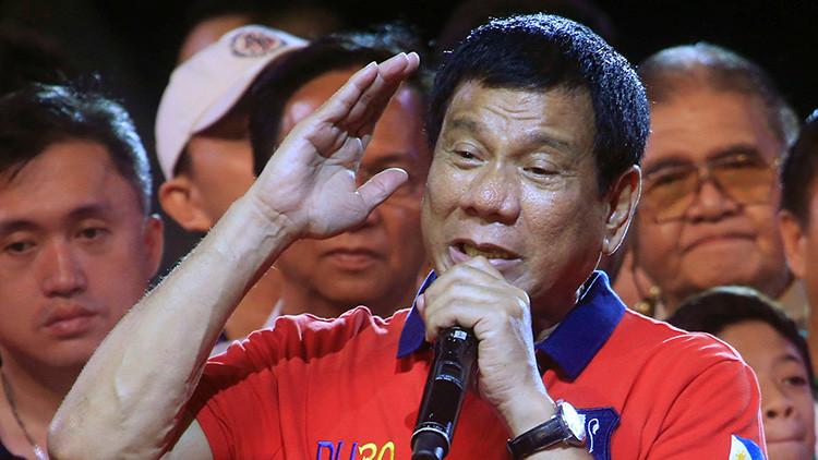 El presidente de Filipinas justifica el asesinato de periodistas