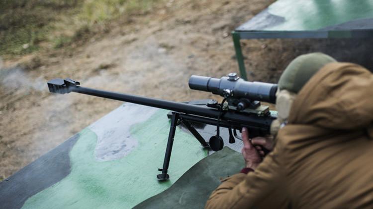 Rusia desarrolla fusiles de francotirador de nueva generación