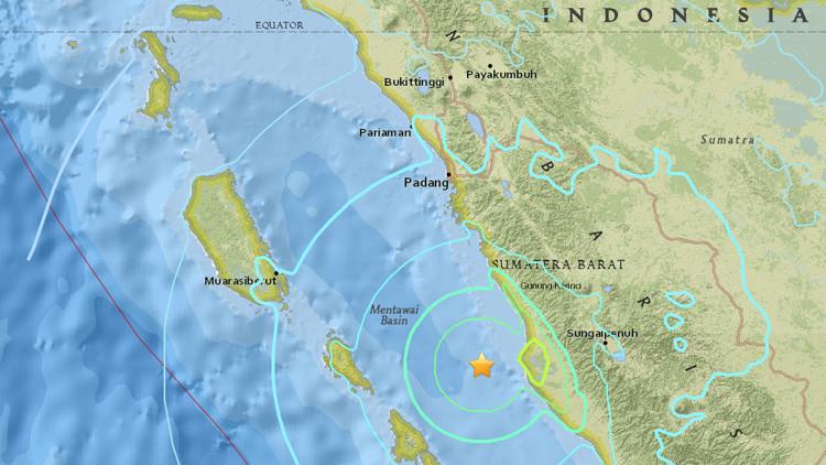 Se registra un terremoto de magnitud 6,5 en Indonesia