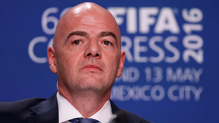 Podrían suspender al presidente de la FIFA por borrar la grabación de una reunión oficial