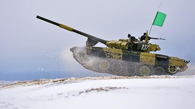 Los países de la OTAN copian el biatlón de tanques de Rusia (videos)