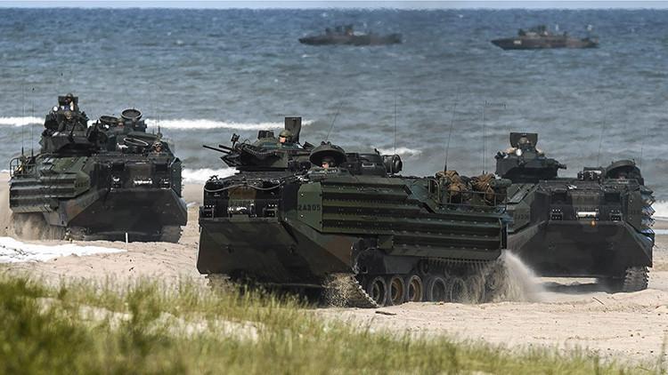 Más leña al fuego: La OTAN inicia las maniobras militares Baltops cerca de las fronteras rusas