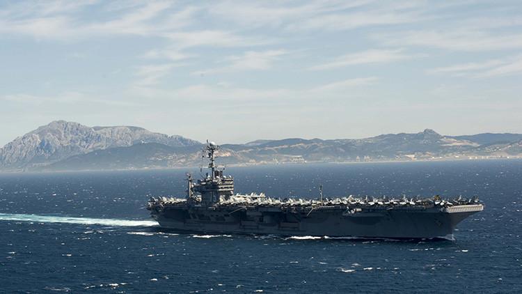 EE.UU. lanza un ataque desde un portaaviones en Oriente Medio por primera vez desde 2003