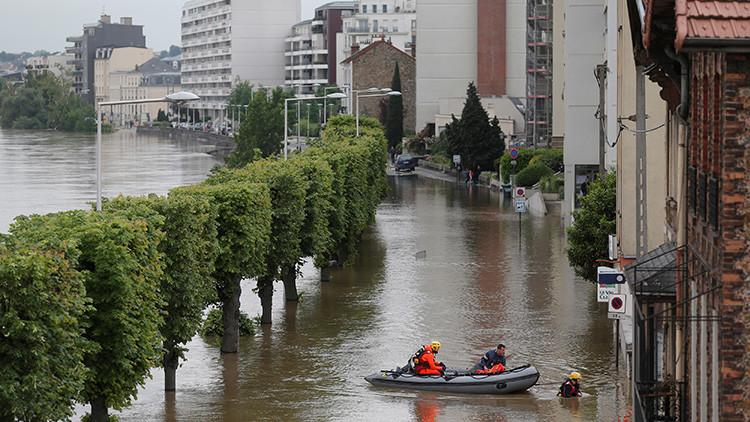 ¿Qué causa las inundaciones que mantienen en vilo a Francia a pocos días de la Eurocopa?