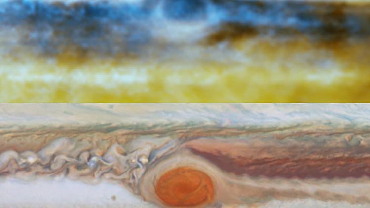 Los científicos están en las nubes... de Júpiter