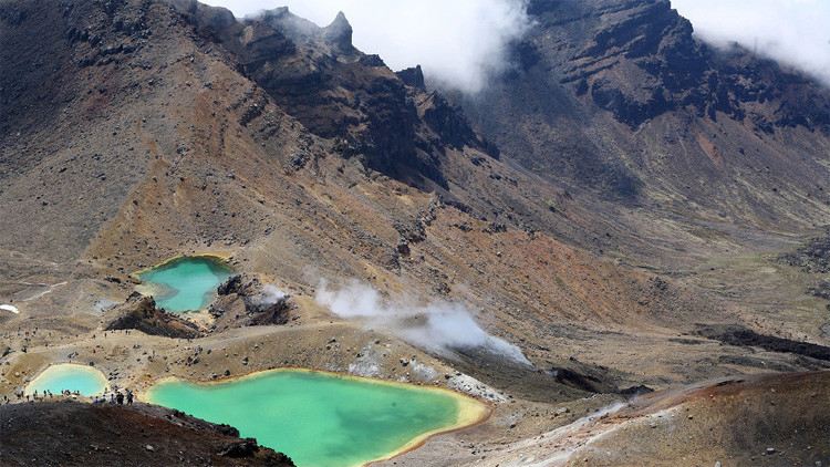 Un nuevo volcán 'zombie' amenaza a Nueva Zelanda