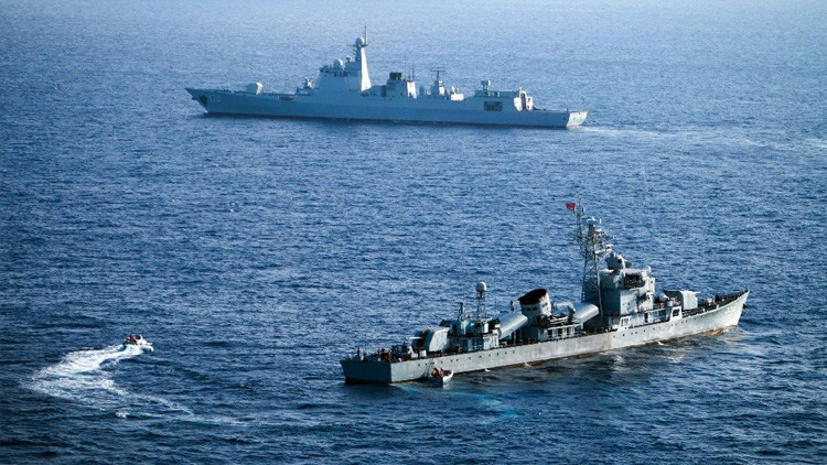 "China no le ""teme"" a EE.UU. en su disputa territorial en el mar de la China Meridional"