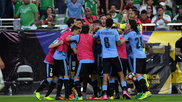 Confunden el himno uruguayo con el chileno en un encuentro de la Copa América Centenario (video)