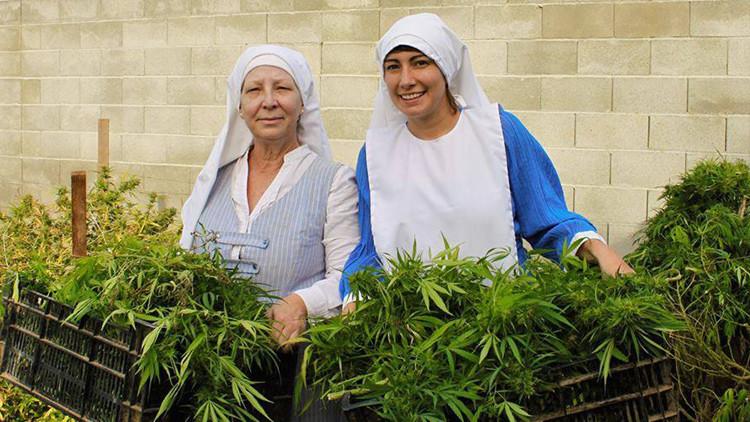 Video: Unas 'monjas' quieren curar al mundo con marihuana