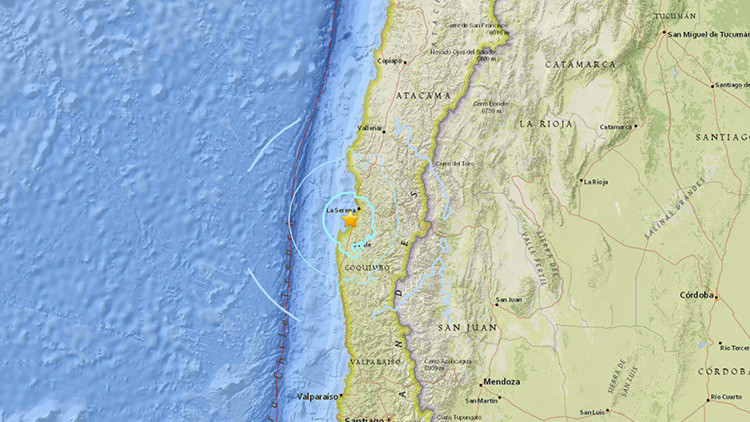 Se registran dos terremotos de 5 y 5,6 en Chile