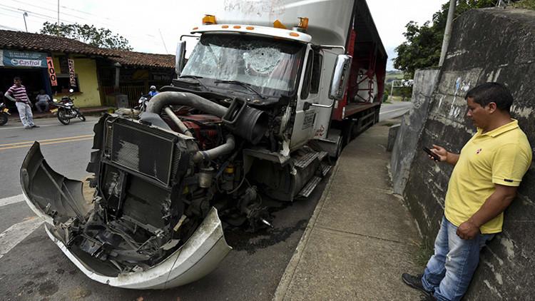Protesta sí, represión no: los camioneros salen a las calles de Colombia