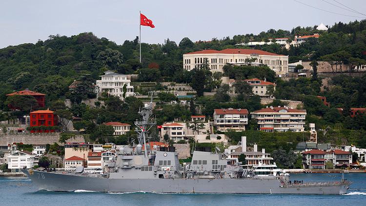 El destructor estadounidense USS Porter entra en aguas del mar Negro (fotos, video)