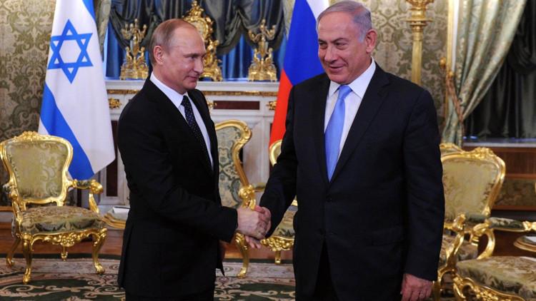 """Putin: """"Rusia e Israel negociarán el establecimiento de una zona de libre comercio"""""""