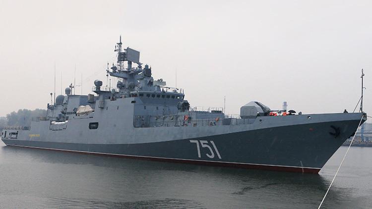 La Flota rusa del Mar Negro se renueva con una fragata avanzada