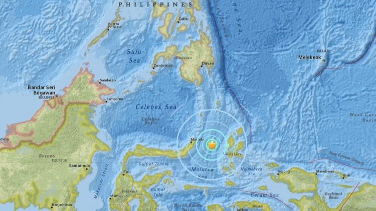 Se registra un sismo de magnitud 6,4 cerca de las costas de Indonesia