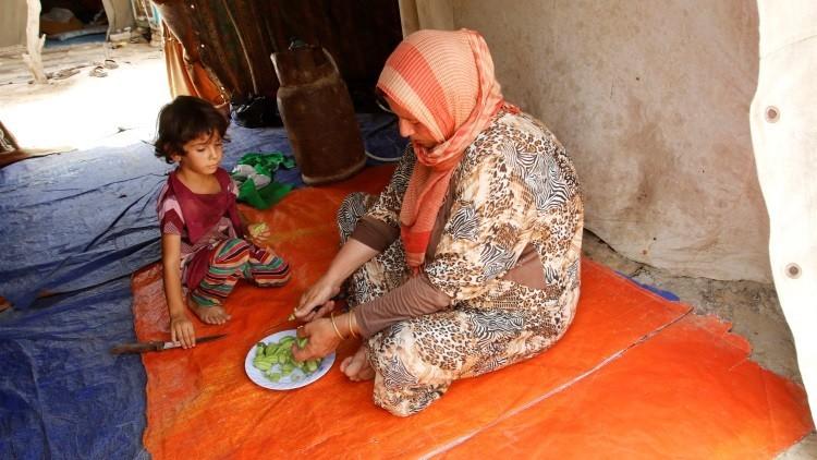 Los habitantes de Faluya son obligados a unirse al EI para no morir de hambre