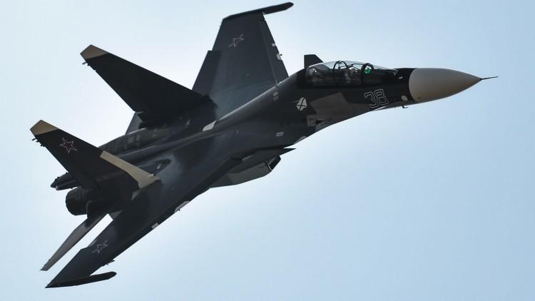 Desvelan la función del caza ultramoderno ruso Su-30 SM en Siria