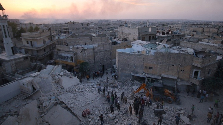 La ciudad siria de Alepo / 2 de junio de 2016
