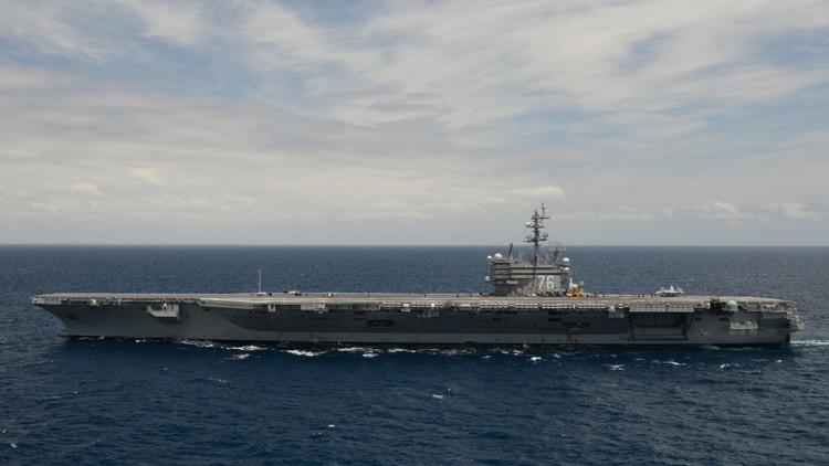 Por primera vez en casi cuatro años EE.UU. despliega seis portaaviones simultáneamente