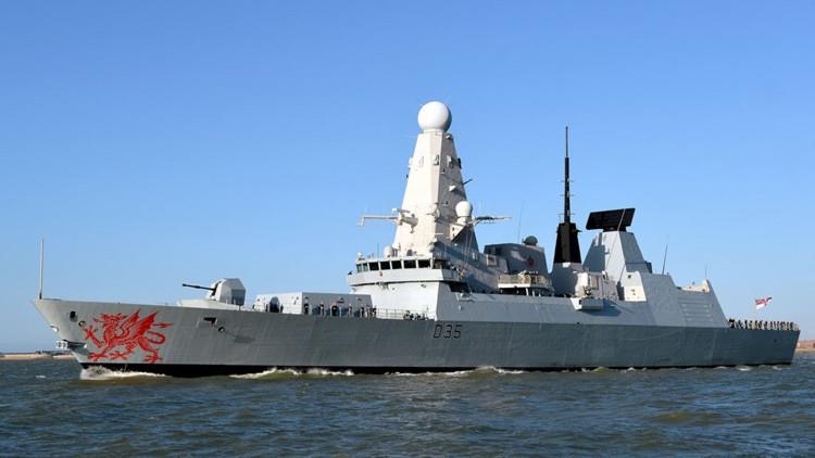 """Marina británica: """"Nuestros destructores se 'desintegrarán' si son enviados a Oriente Medio"""""""
