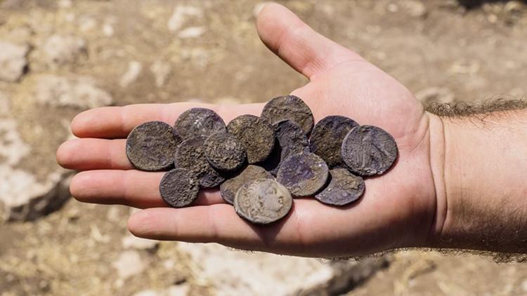 """Hallan en Palestina el """"extraño"""" tesoro de un antiguo judío"""