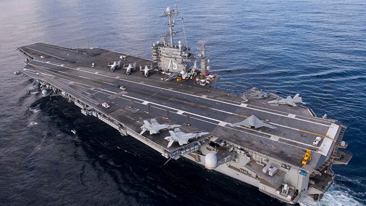EE.UU. despliega dos portaaviones en el Mediterráneo