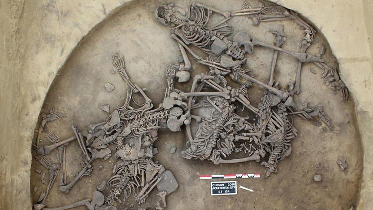 Arqueólogos franceses descubren restos de una masacre de hace 6.000 años (fotos)