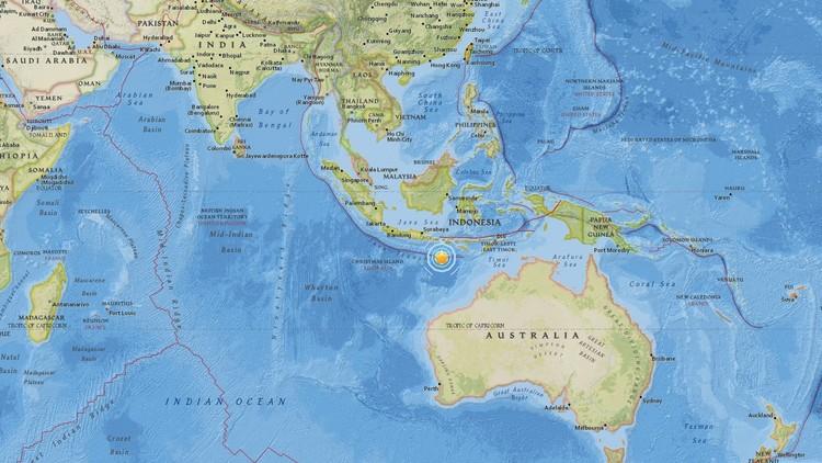 Se registra un sismo de magnitud 6,2 cerca de las costas de Indonesia