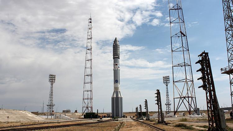 VIDEO: Lanzamiento del cohete portador ruso Protón-M con un satélite estadounidense