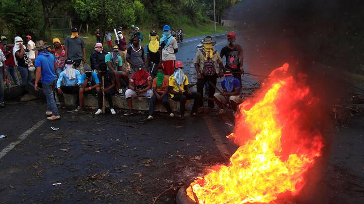 Luego de 11 días de protestas, campesinos colombianos no dan marcha atrás