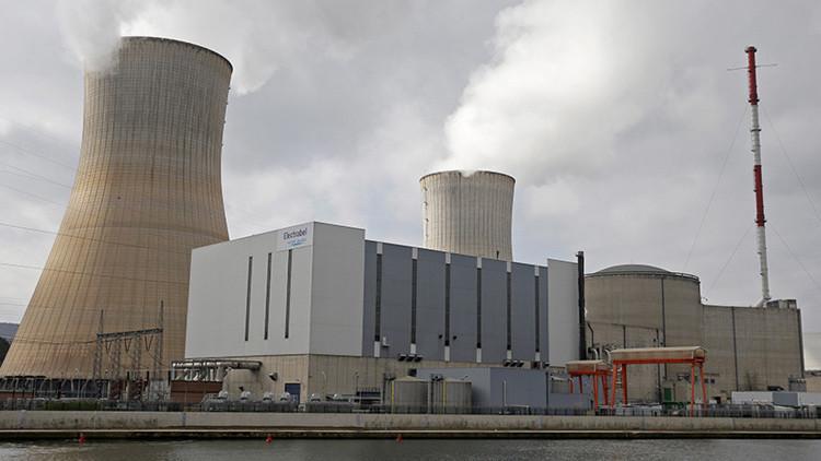 Se apaga el reactor de una central nuclear belga