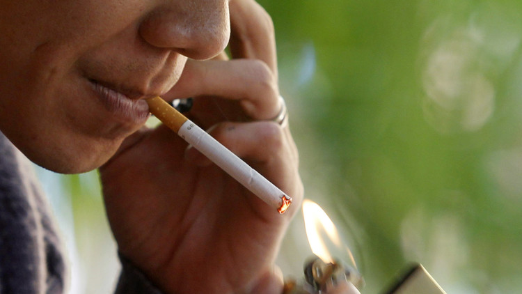 'El color más feo del mundo', en paquetes de cigarrillos para desalentar a los fumadores (foto)