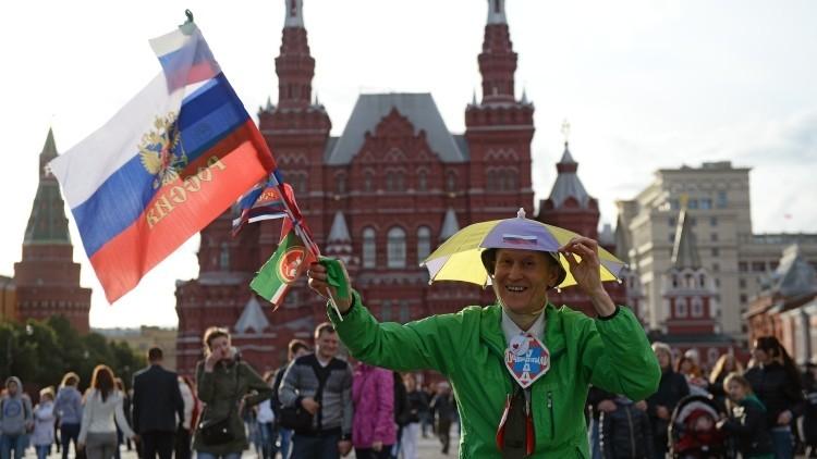 Rusia celebra su fiesta nacional
