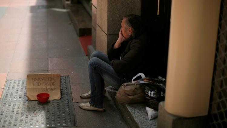 """""""El capitalismo caerá porque los bancos y la elite política dejan pudrirse a los pobres"""""""